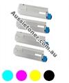 Picture of Bundled Set of 4 Remanufactured Toner Cartridges - suits  Anytron any-001 Digital Label Press